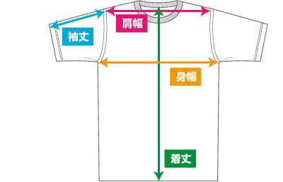 Tシャツ採寸